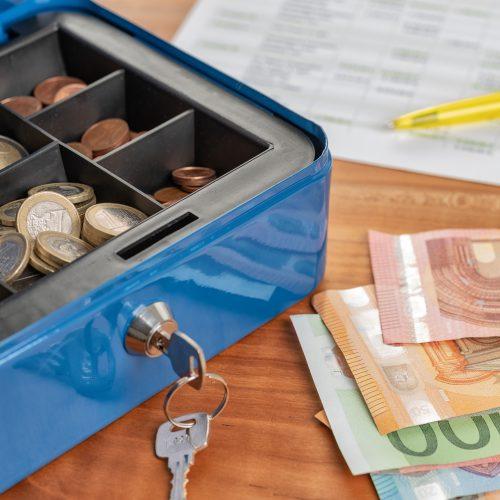 Kas- en dagontvangstenboek